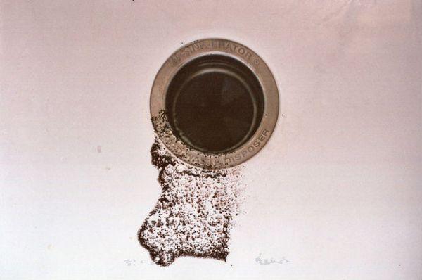 débouchage évier avec marc de café